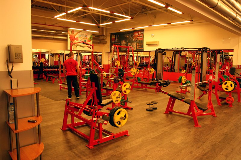 the red gym sofia