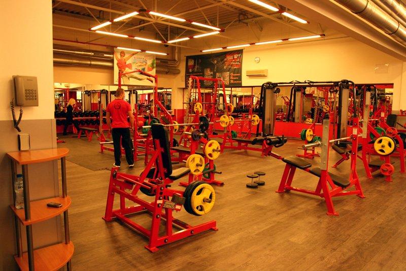 the red gym sofia