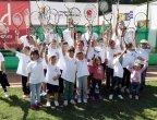 """Деца от цяла България се забавляваха с празниците по програмата """"Тенисът – спорт за всички"""""""